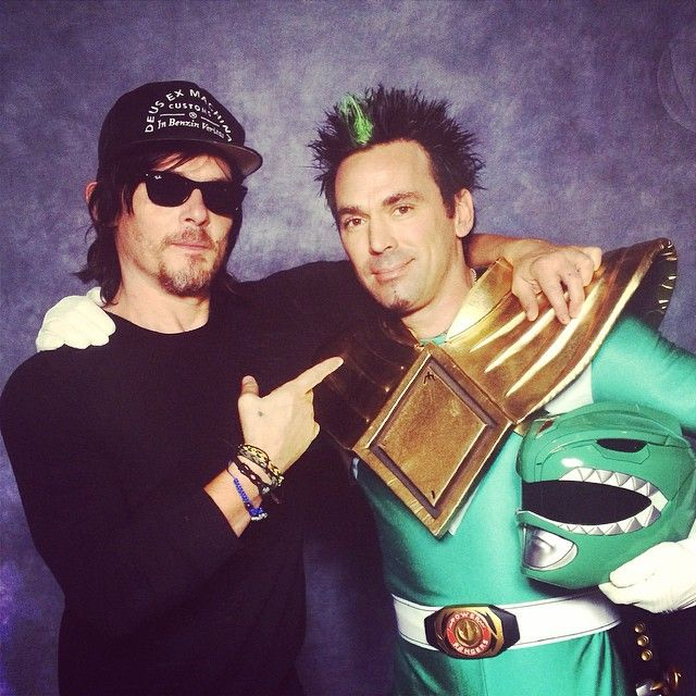 Jason David Frank (The Green Ranger) just posted this to his page on Facebook.