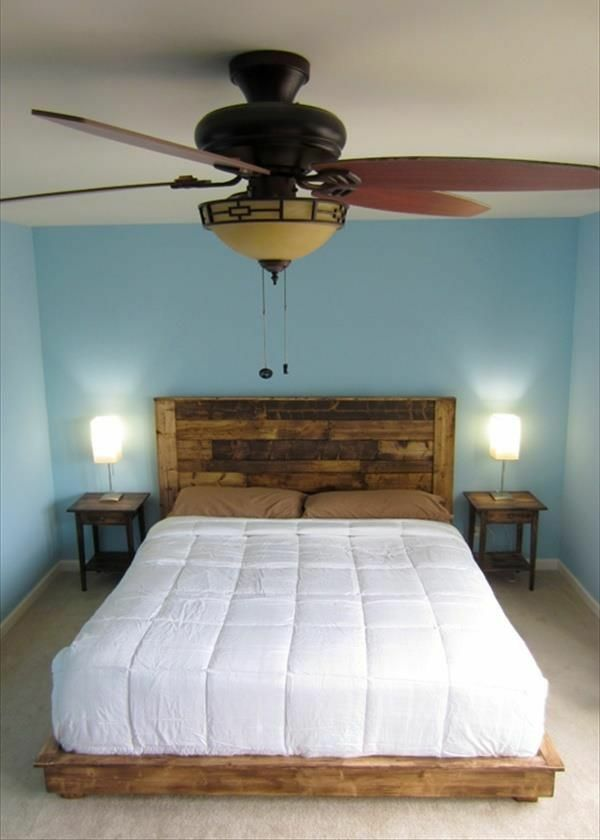 king size platform bed diy plans my hubby is going to build me this - Diy Trkopfteil King Size