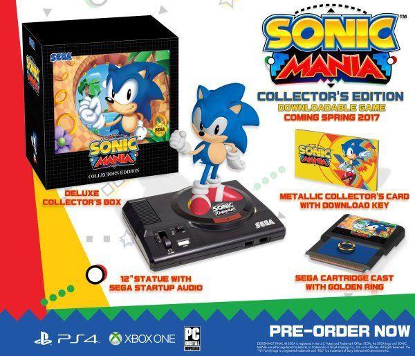 Así es la coleccionista de #SonicMania por el 25 aniversario