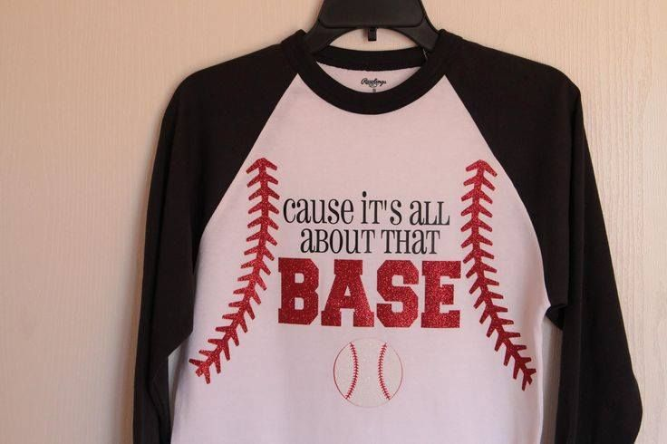 Heat Transfer Vinyl Custom Order Baseball Design For Shirt