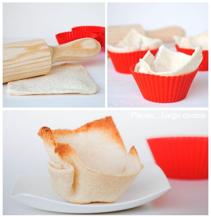 Tartaletas con Pan de Molde