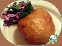Куриная кожа, фаршированная картофелем ингредиенты