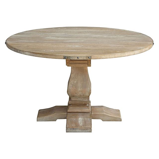 Dover Mason Marlow Round Dining Table Beach House