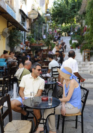 VISIT GREECE| Athens, Plaka  #citybreaks #destinations #travel  Greek coffee time