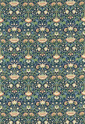 Englische Design Tapeten William Morris Luxus Papier Tapete Muster