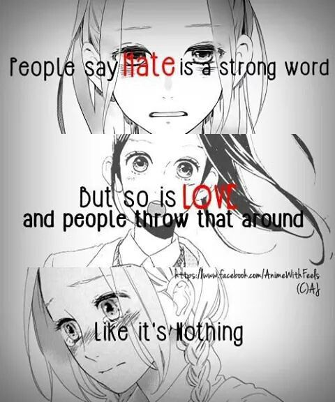 Cartoon Word Quote: This Is So True. People Act Like Love Is Just A Word That
