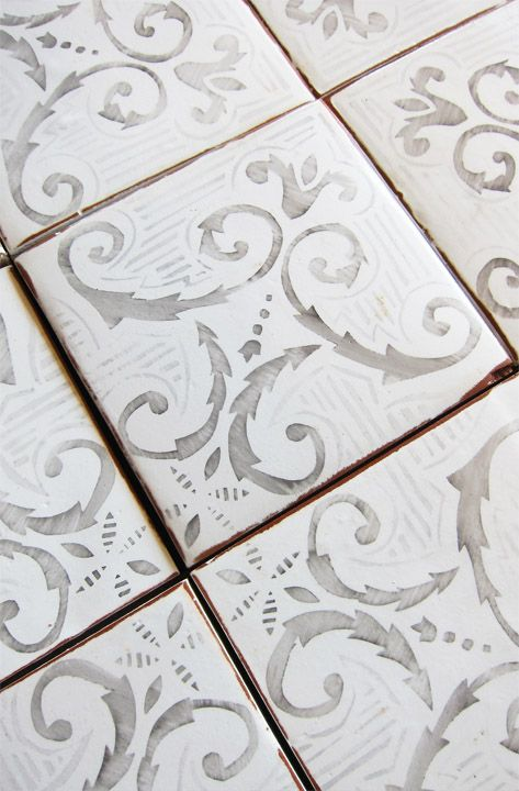 Tiles that have a vintage design also bring up the value look of a restaurant. This tile would be in the corridors that are closer to the kitchen where things are most likely to spill.