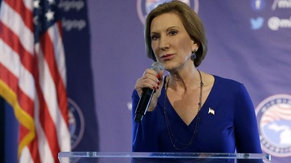 Carly Fiorina soars to second place behind Trump in new poll http://www.razzwire.com/