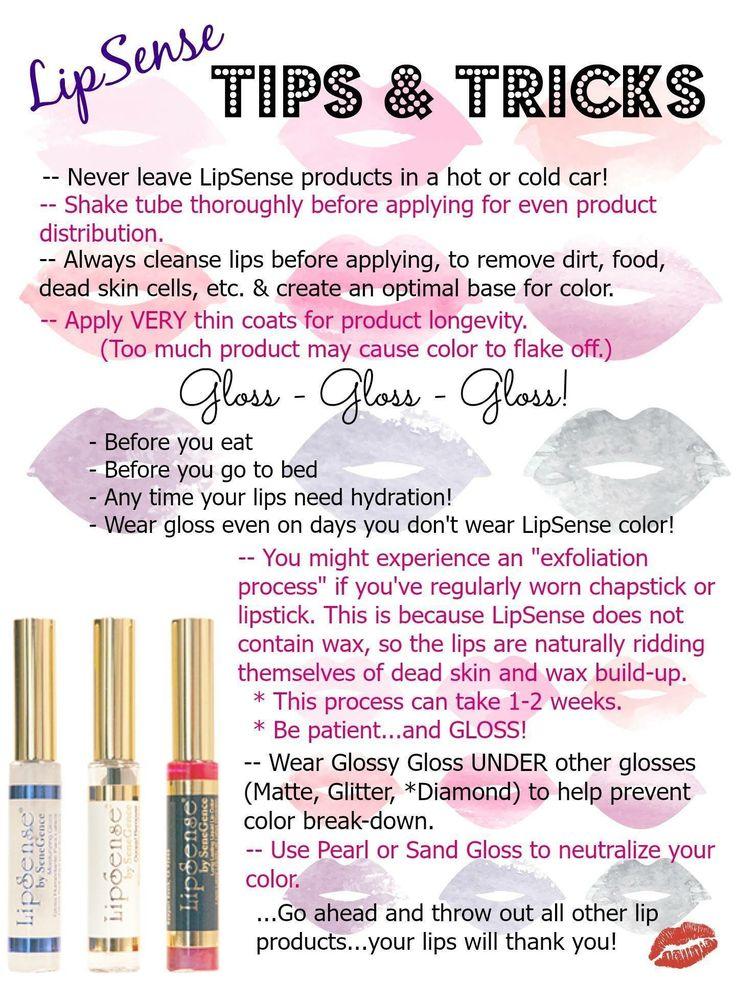 LipSense Lipcolor | Cosmetics by SeneGence | Order now ...