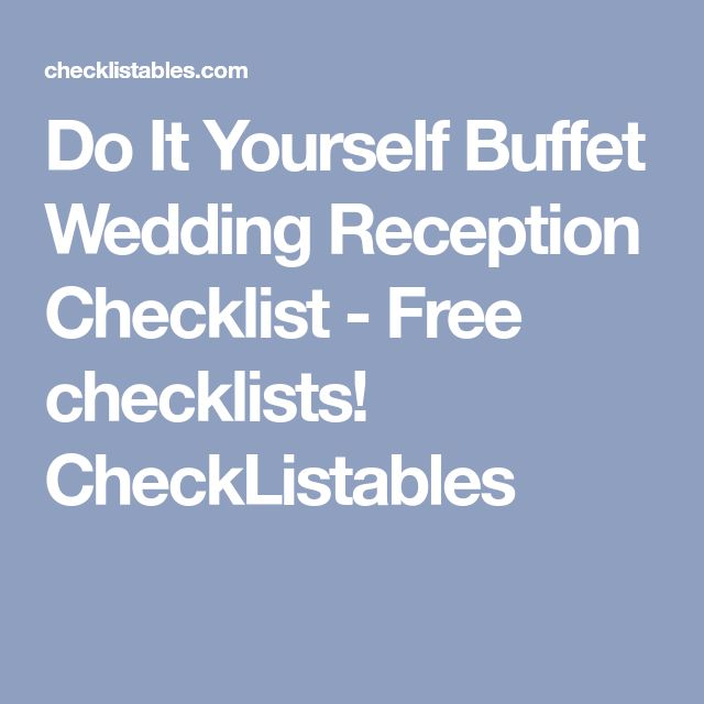 The 25 best reception checklist ideas on pinterest diy wedding the 25 best reception checklist ideas on pinterest diy wedding reception checklist reception timeline and wedding list solutioingenieria Gallery