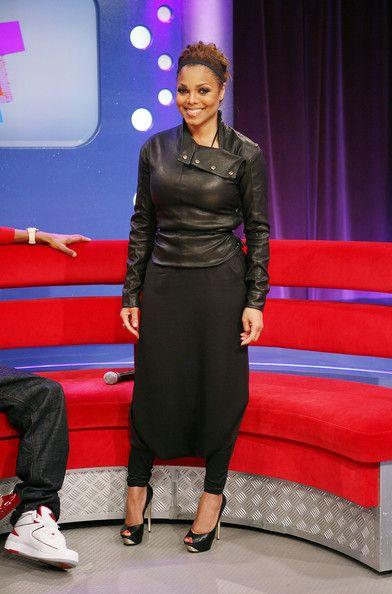 Janet Jackson Peep Toe Pumps - Janet Jackson Heels - StyleBistro