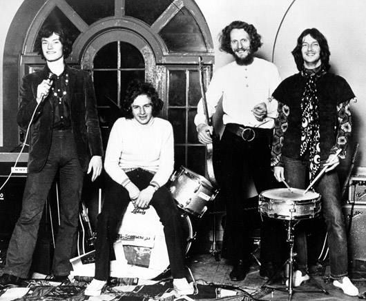 "Blind Faith were an English blues rock band, composed of Eric Clapton, Ginger Baker, Steve Winwood, and Ric Grech. The band, which was one of the first ""super-groups"", released their only album, Blind Faith, in August 1969. They were stylistically similar to the bands in which Winwood, Baker, and Clapton had most recently participated, Traffic and Cream. They helped to pioneer the genre of blues/rock fusion (Wikipedia)"