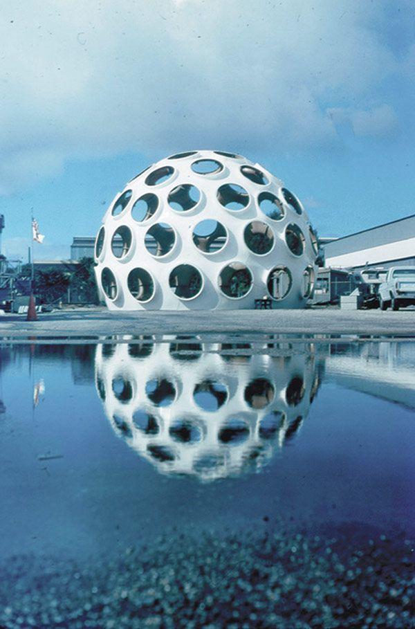 Modern Architecture News robert rubin restoring a monumental buckminster fuller dome