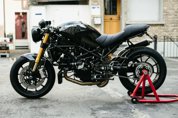 ducati monster drop bars - Google Search