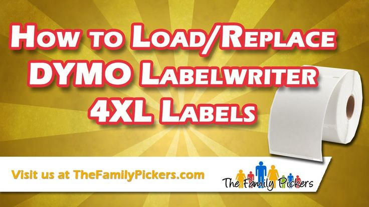 DYMO Labelwriter 4XL: How to Load the Labels - eBay Shipping Label Printer