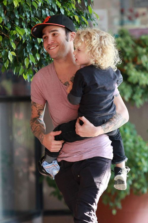 Pete Wentz & His Son