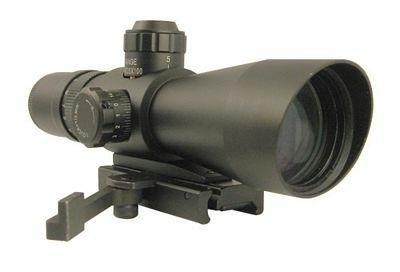 NcSTAR 4x32 mm Mark III Illuminated Reticle Tactical Scope Weaver / Picatinny Mount $64.99
