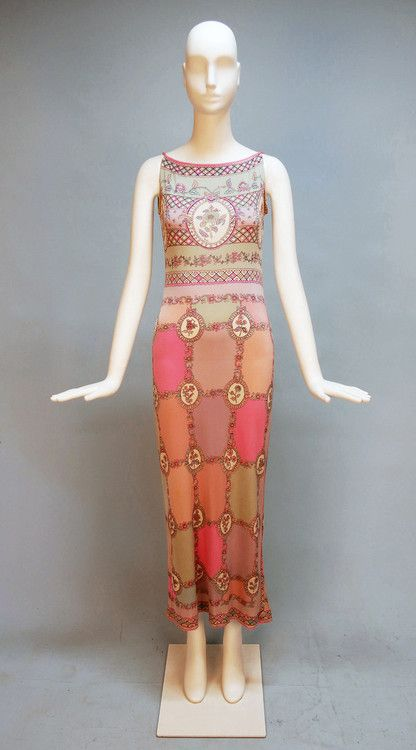 Dress - Emilio Pucci, ca.1970's - via Whitaker Auctions