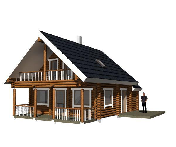 Inspirational estnisches Blockhaus die qm f r uac