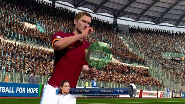 FIFA Online 3: Review Francesco Totti U6 – Gừng càng già càng cay