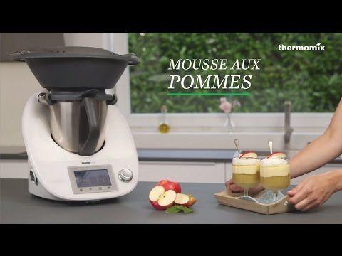 La mousse aux pommes au Thermomix® TM5, recette issue des cours de cuisine - YouTube