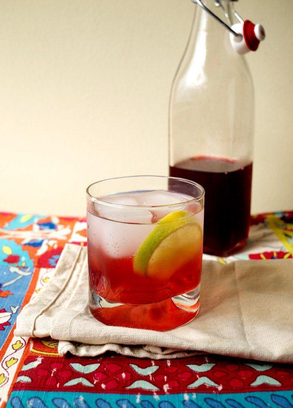 Mixology Monday: Classic Blackberry Shrub // stirandstrain.com #cocktails