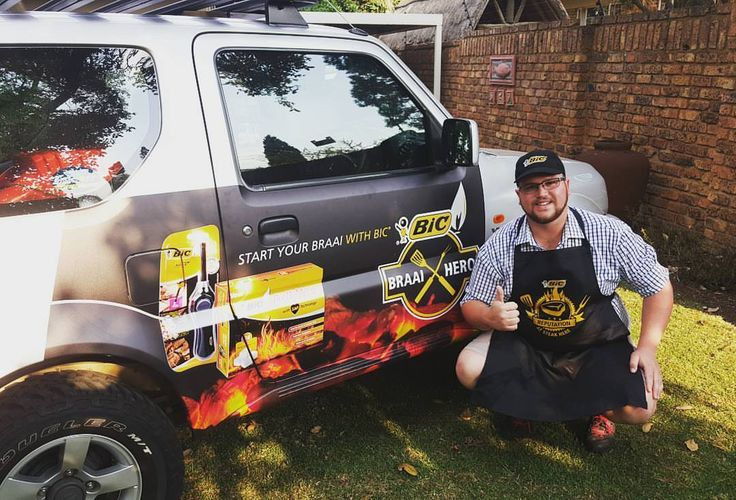 One of our #BICfirelighters drivers getting paid to get the conversation started. #EarnExtraCash #BrandYourCar #Bucks4Influence