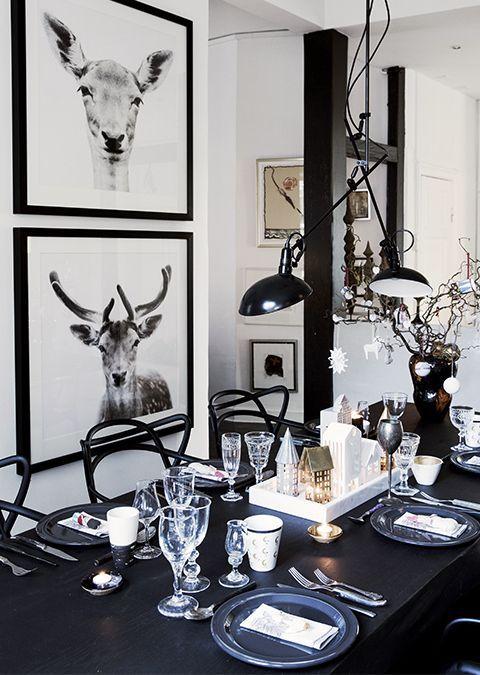 Maak je huis klaar voor de feestdagen - aan tafel