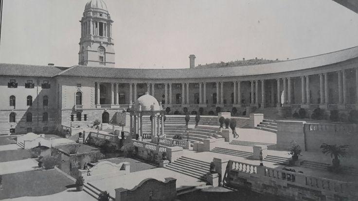 Amphitheatre of the Union Buildings Pretoria