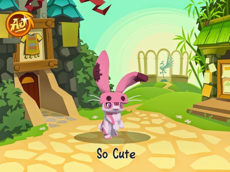 Pixie Girl Animal Jammer : Animal Jam History: Peck the Bunny ...