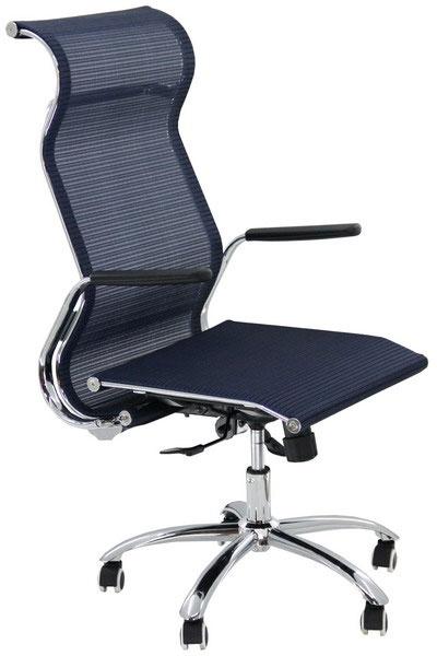 Scaunul ergonomic de birou OFF 938 este un scaun modern, cu linii cursive, oferind rafinament si o nota de eleganta.  Manerele si linia cadrului sunt create pentru a oferi un plus de ergonomie, alaturi de look-ul modernist. Scaunul este  cu spatar inalt (potrivit si pentru persoane de peste 190 cm), imbracat in plasa ergonomica (mesh). Mecanismul permite blocarea in pozitie de balans si ajustarea inaltimii. http://www.scauneonline.ro/scaune-ergonomice-de-birou-off-938/