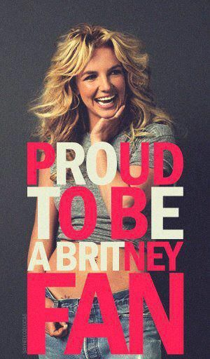 Repin if you're a proud Britney fan! Let's see how many repins we can get! :)