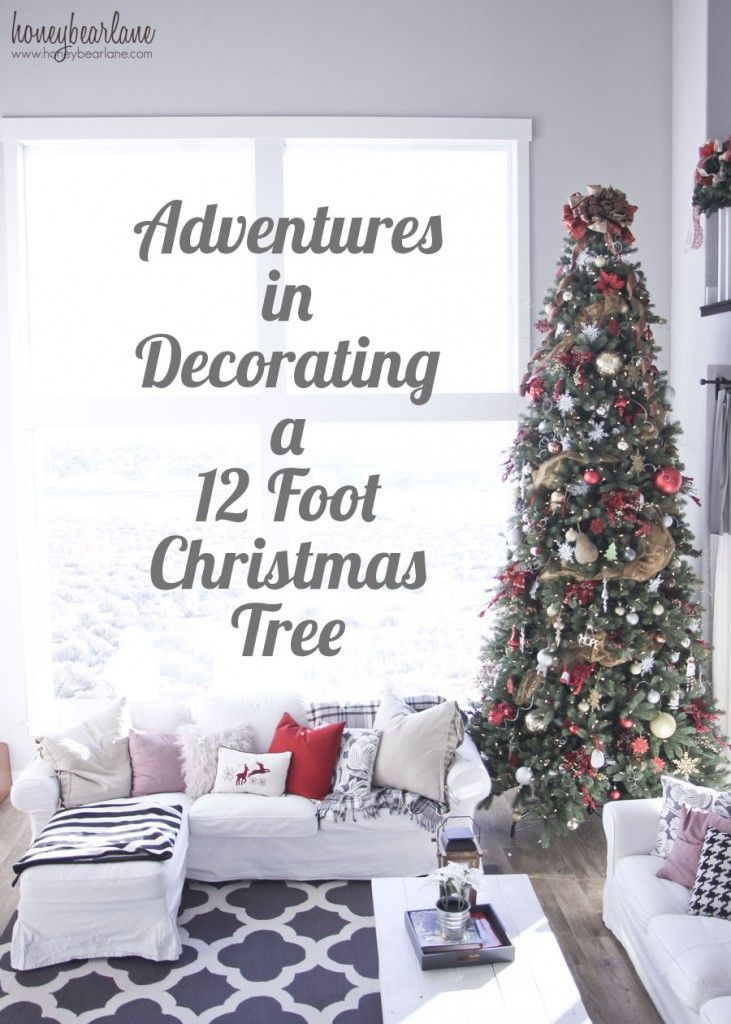 adventures in deocrating a 12 ft christmas tree got a tall christmas tree to decorate - 12 Inch Christmas Tree