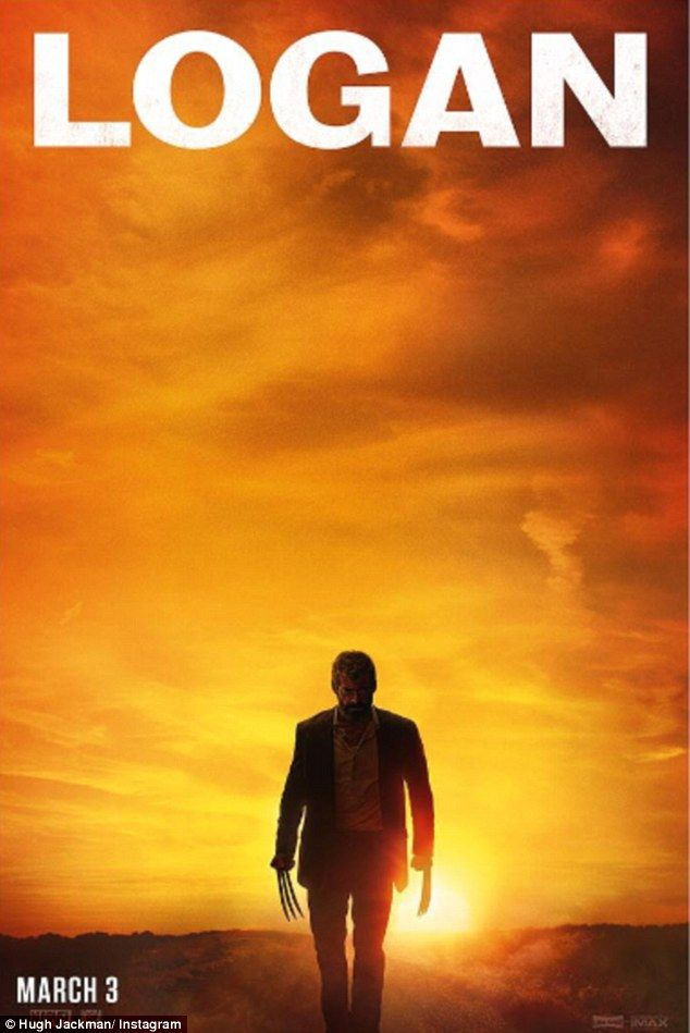 Dead? Hugh Jackman looked run-down and grey in a poster for his final Wolverine film 'Logan, sparking fan rumours his character would die on screen