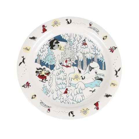 Moomin Winterland plate