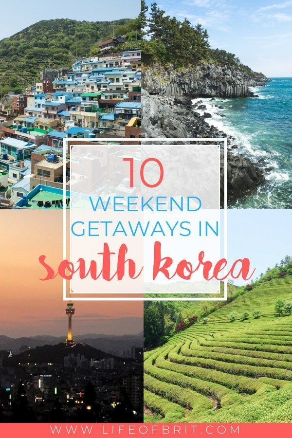 The 10 Best Weekend Trips In South Korea Life Of Brit Korea Travel Travel Destinations Asia Best Weekend Trips