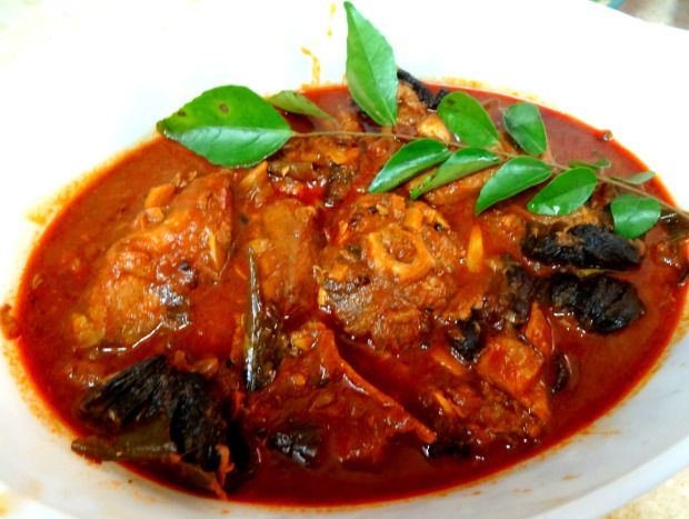 Malabar Fish Curry (Red & Spicy Kerala Fish curry)