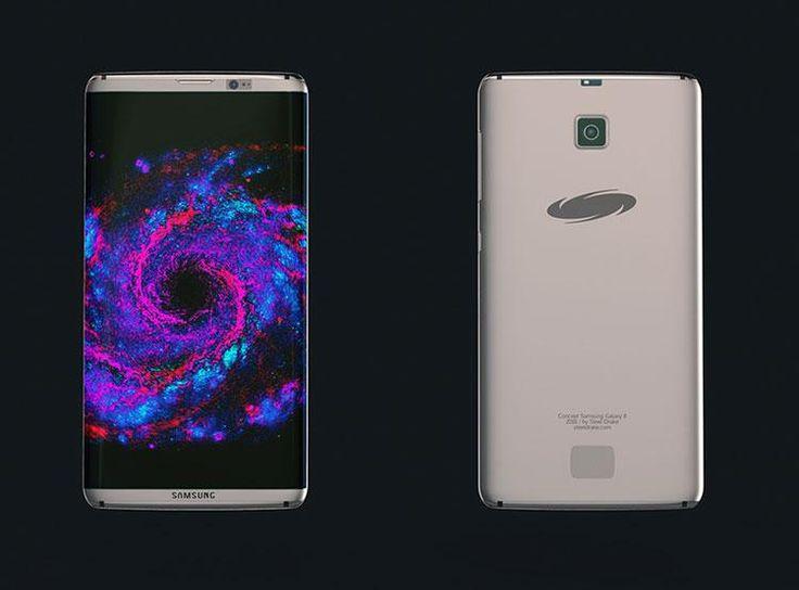 Samsung Galaxy S8 Edge kamera, design és kijelző funkciók