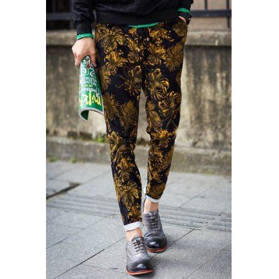 Style: Casual  Material: Polyester, Cotton  Fit Type: Regular  Waist Type: Low  Closure Type: Drawstring  Front Style: Flat  Weight: 1KG  Pant Length: Long Pants  Pant Style: Harem Pants  Package Contents: 1 x Pants  SizeWaistLength M7098 L74100 XL76102 2XL80104