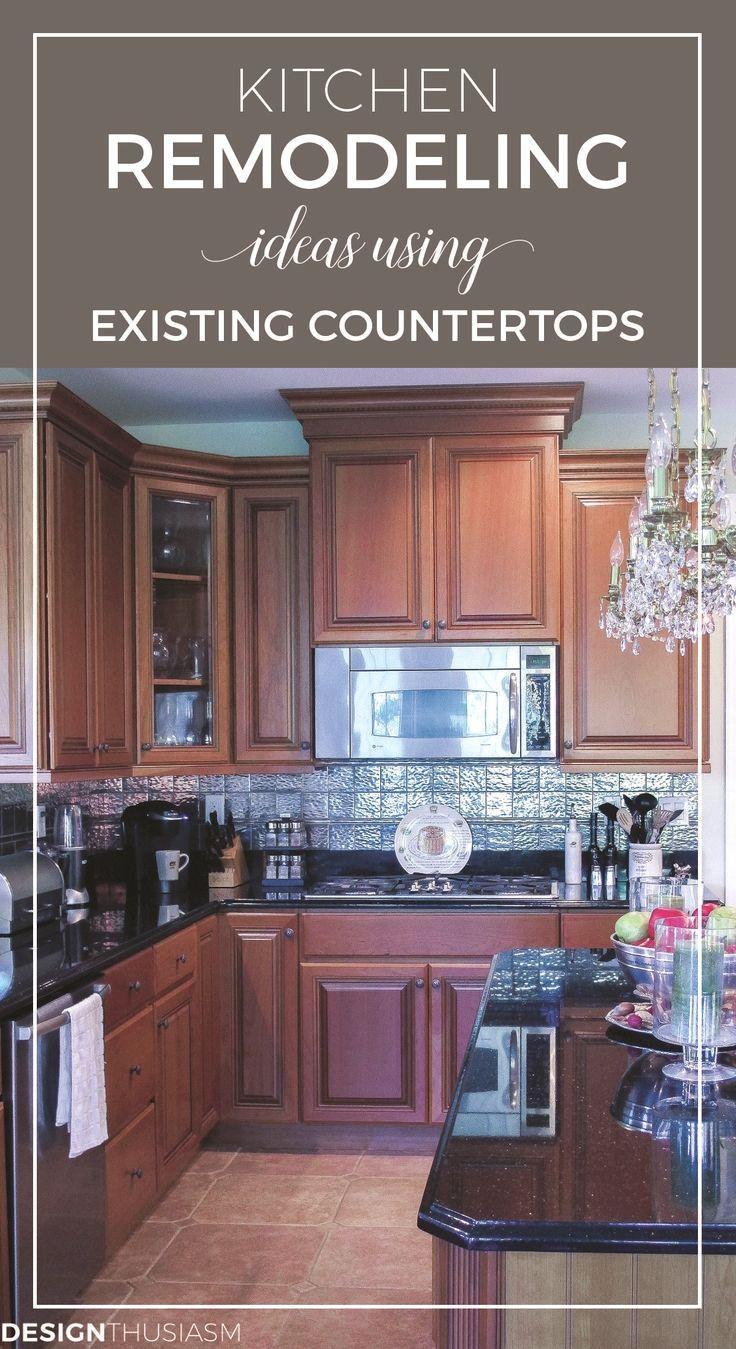 Kitchen Countertop Ideas Budget Kitchen Remodel Kitchen Cabinet