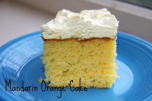 Cake Icing Recipe With Cool Whip: Mandarin Orange Cake Recipe W/ #CoolWhip Frosting Via