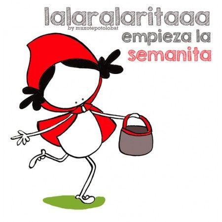 "Lámina ""Caperucita Roja"""