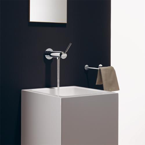 wall mounted single handle mixer tap for washbasin tara. Black Bedroom Furniture Sets. Home Design Ideas