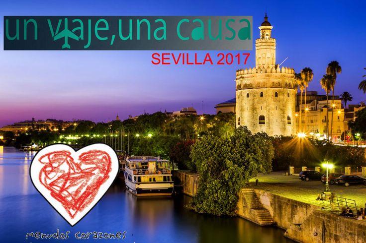 Rumbo a Sevilla 2017. #UnViajeUnaCausa #NoCorremosSolos http://www.migranodearena.org/es/reto/12456/maraton-de-sevilla-2017-un-viaje-una-causa/