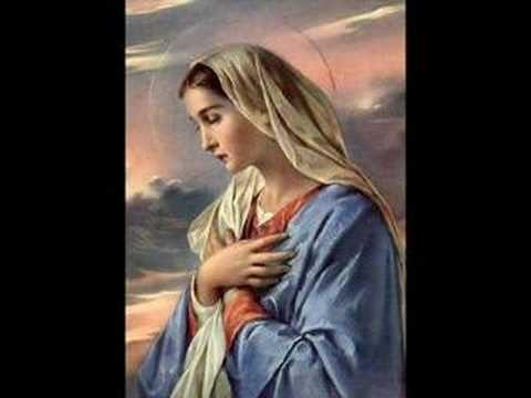 El Angelus (cantado y en latín) - YouTube