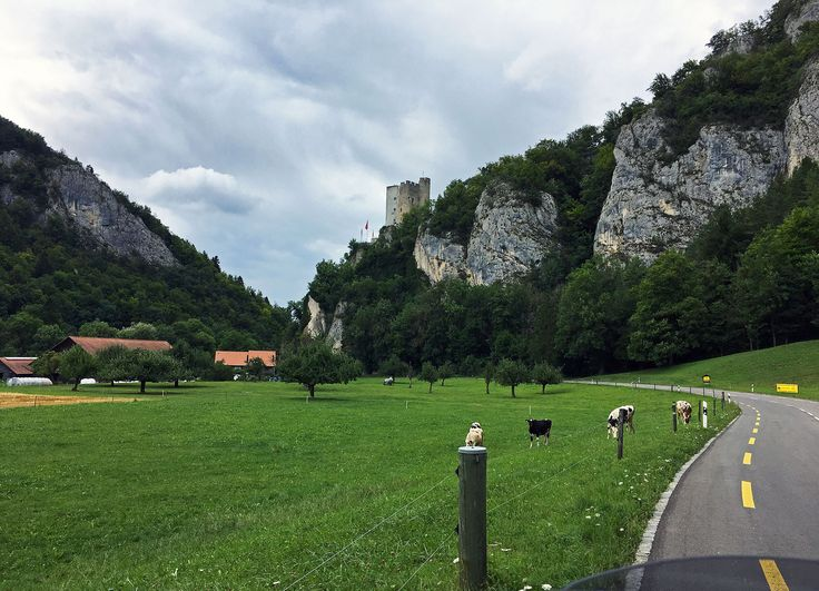 The landscape had something almost medieval about it, with castles sitting on cliffs and hilltops