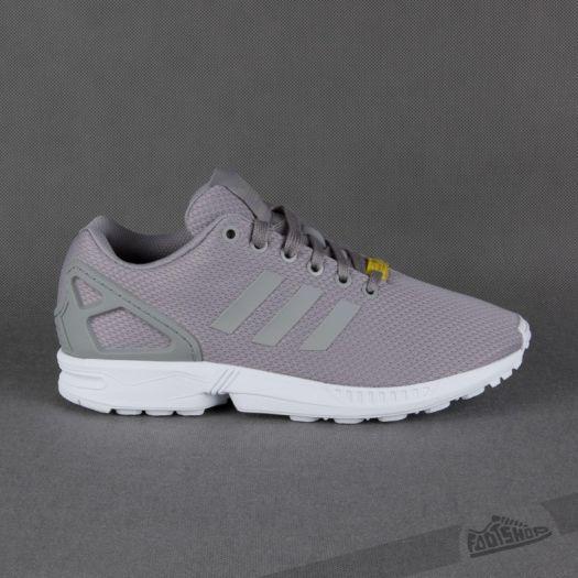 adidas ZX Flux Light Granite/ Light Granite - Footshop