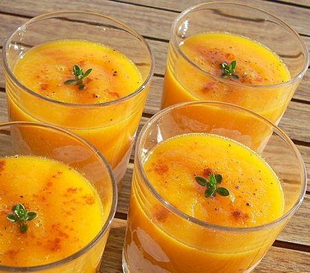 Soupe d'ananas gla-glacée !