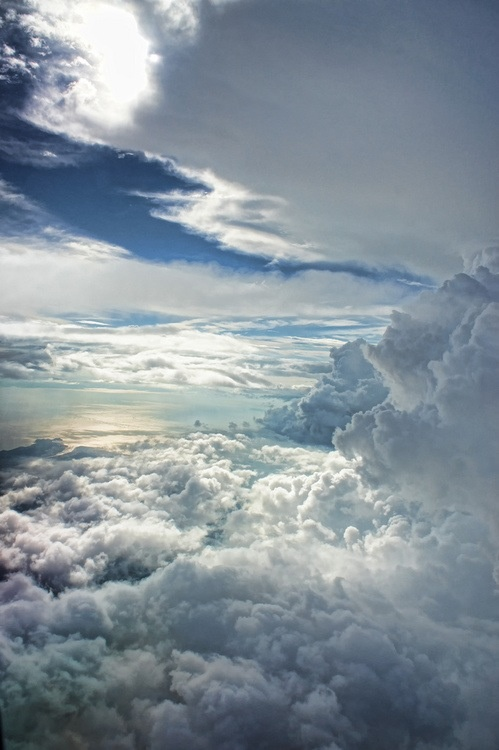 Clouds.. so beautiful a privilege over my head, way above me