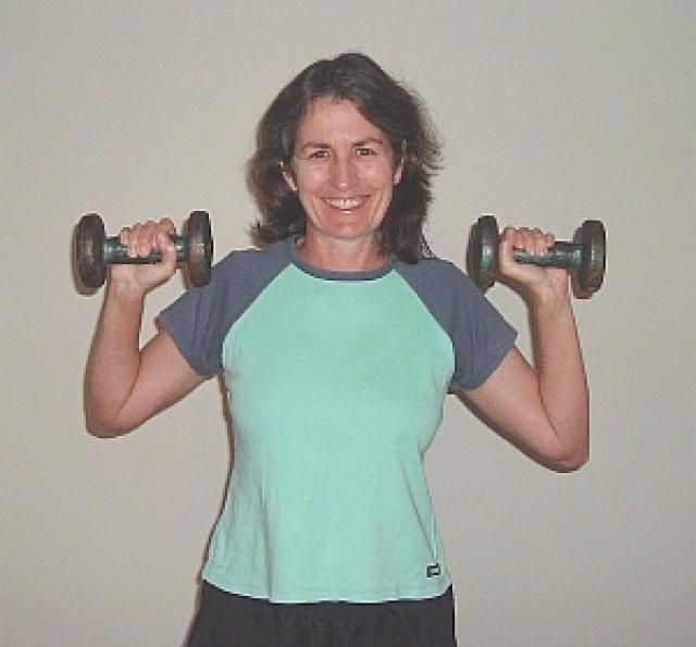 How to Do the Dumbbell Overhead Press: How to Do the Dumbbell Overhead Press - Exercise Description